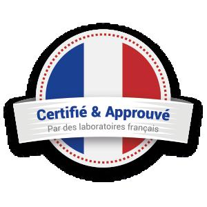 Les pailles MyPaï sont certifiées et approuvées par des laboratoires Français