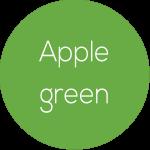Couleur vert foncé des pailles écologiques et biodégradables MyPaï